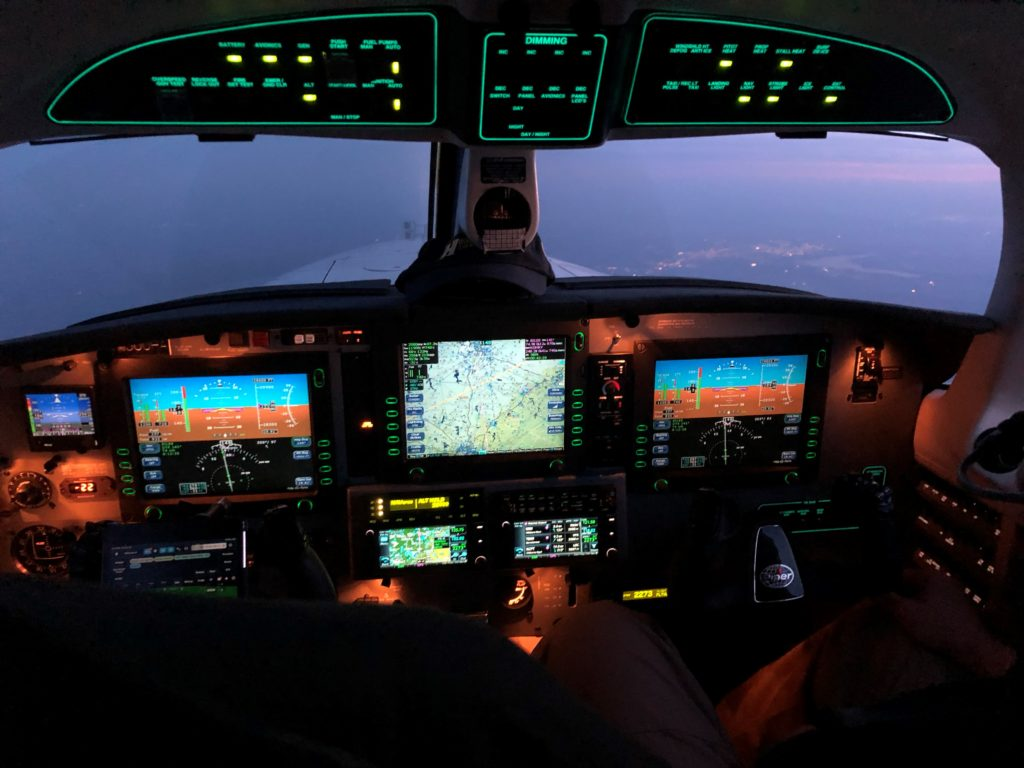 entire cockpit